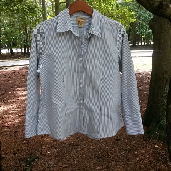 Investments Tops - Investments Petite Shirt